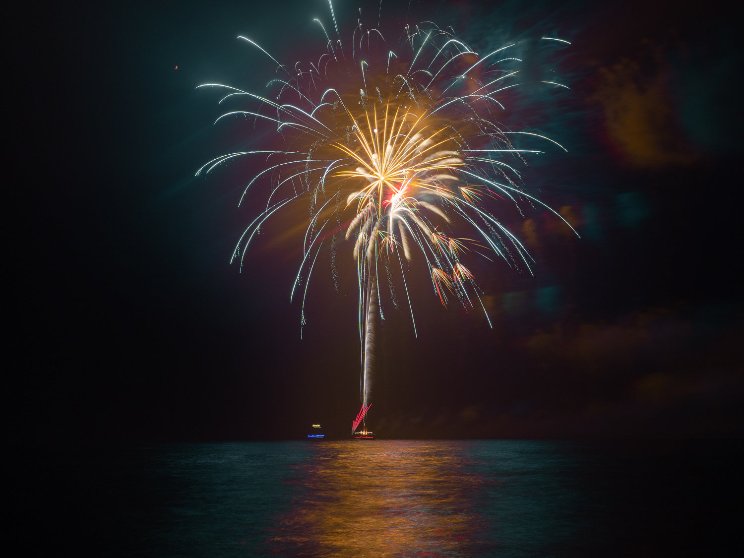 Long Beach held its annual Fireworks Extravaganza on July 5.