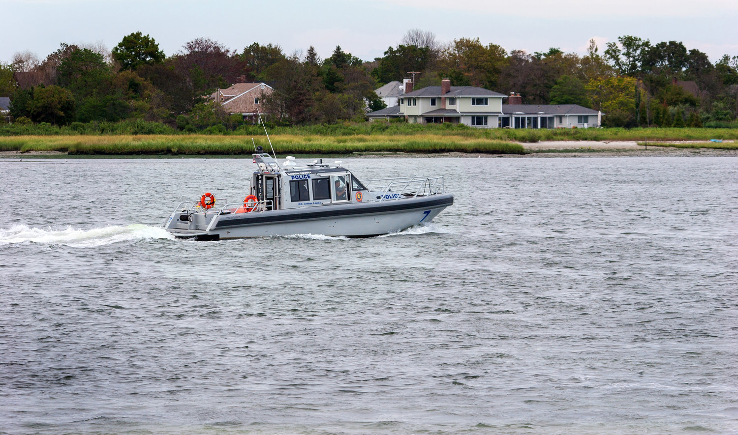 The NCPD Marine Bureau and the Baldwin Fire Department responded to the scene.