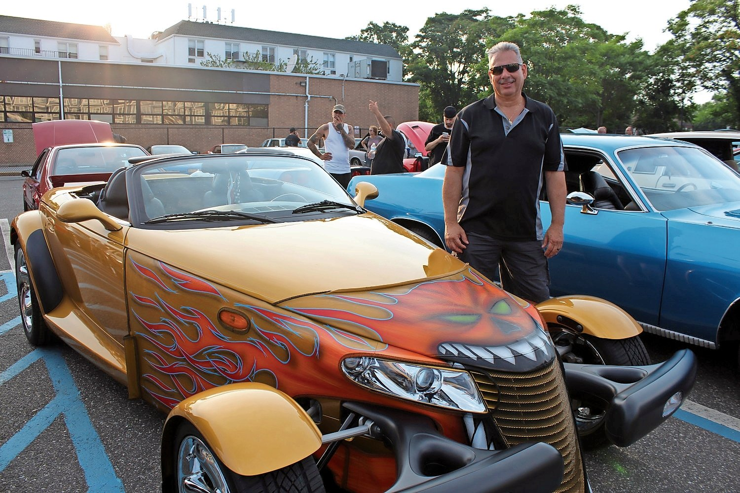 Franklin Square resident Mike Abriuzzo brought a 2002 limited-production Toyota Corolla to the car show last year in East Rockaway.