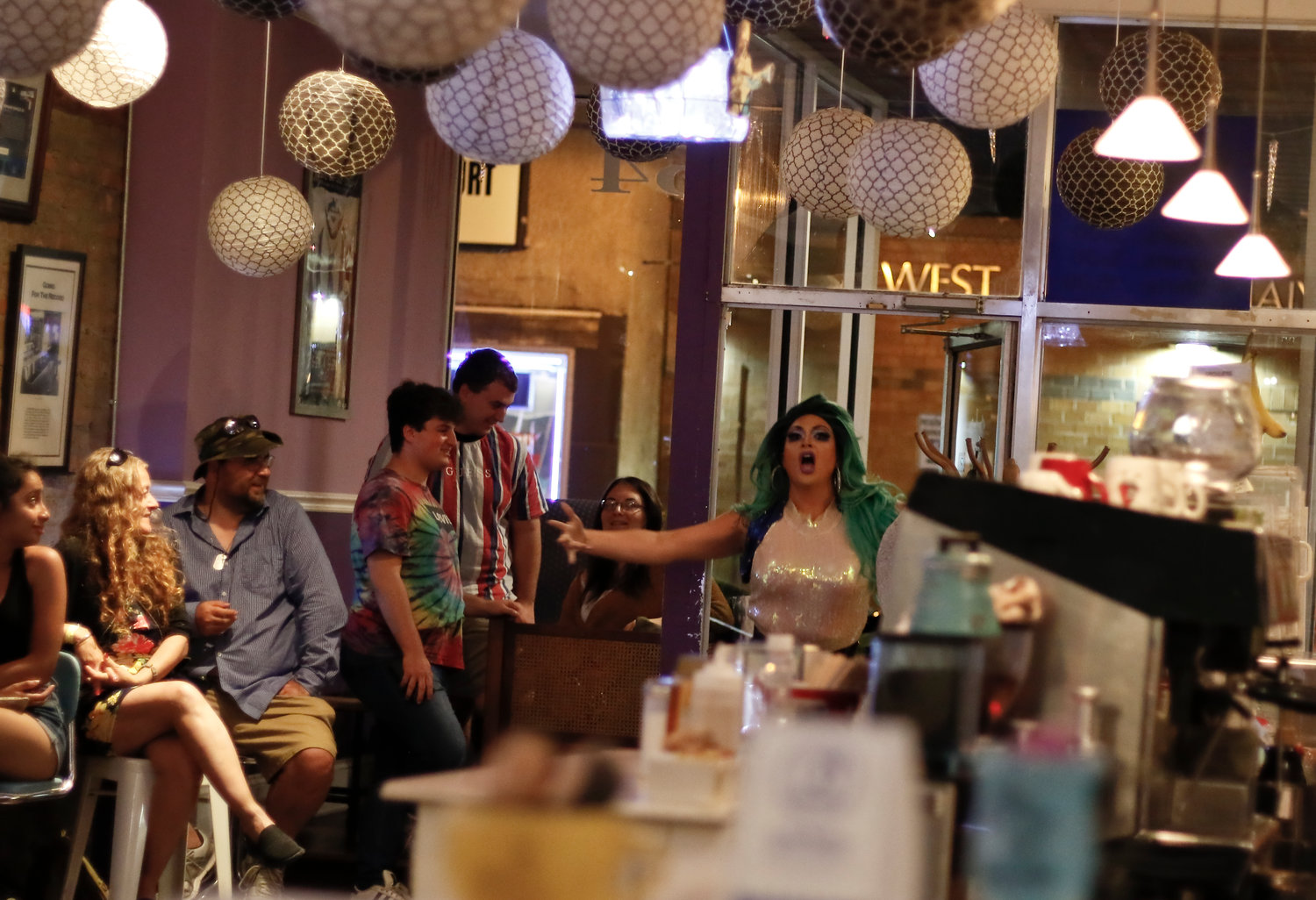 "Bella Noche busted through the doors at Sip This, 64 Rockaway Ave., singing ""Let It Go"" from Disney's ""Frozen."""