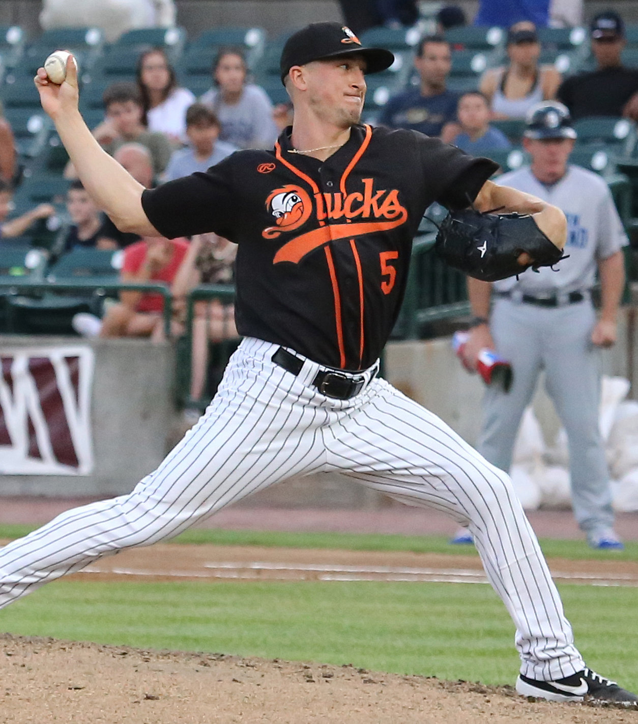 Joe Iorio made a smooth transition from the bullpen to the starting rotation for the Ducks, who had 10 pitchers sign contracts with MLB or professional teams outside of the U.S.
