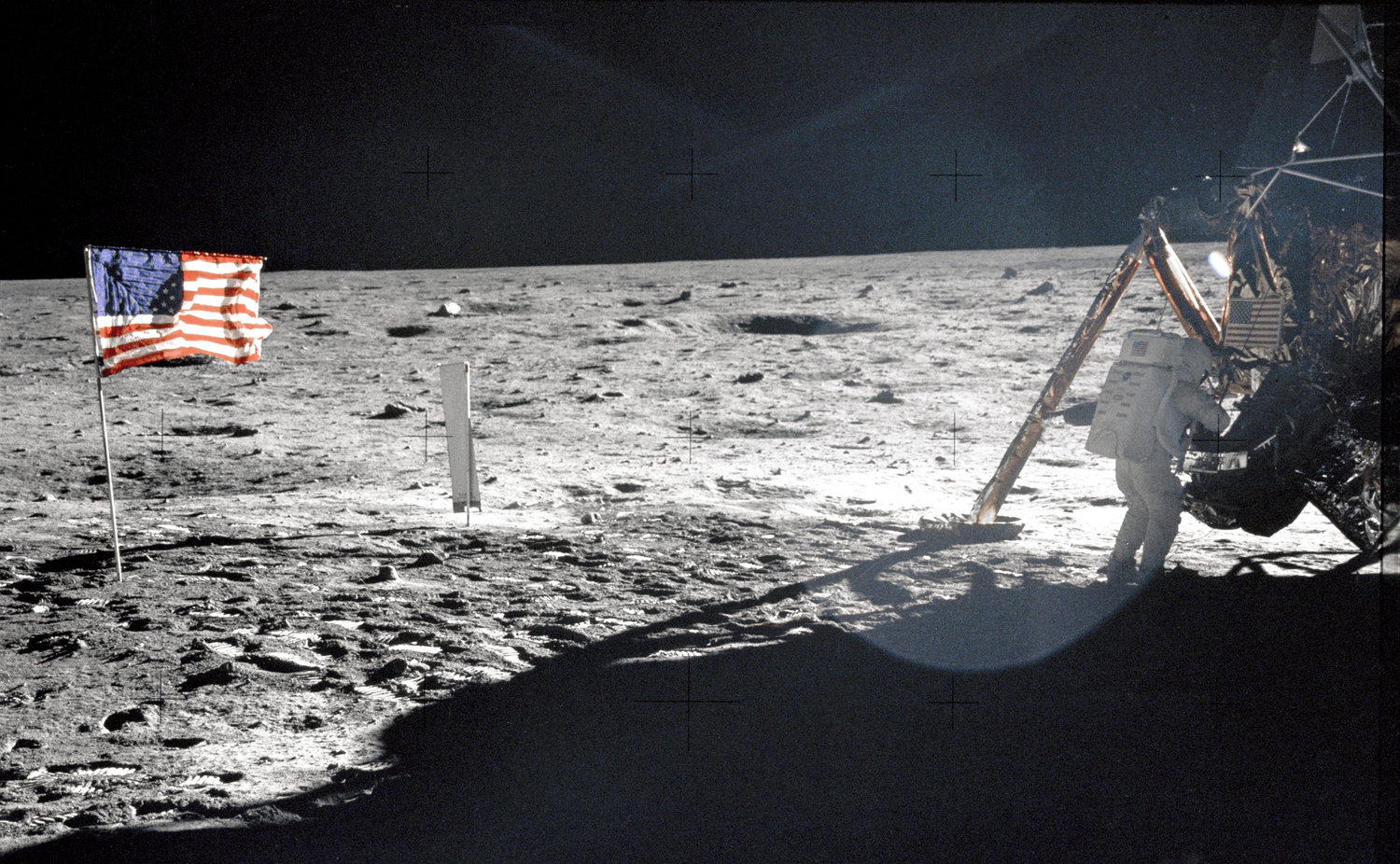 Saturday, July 20, will mark the 50th anniversary of Neil Armstrong's first steps on the moon's surface.