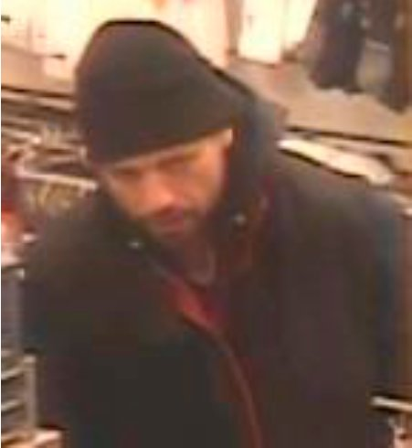 Nassau County police are looking for this man, who allegedly stole merchandise from a TJ Maxx store on Dec. 20.