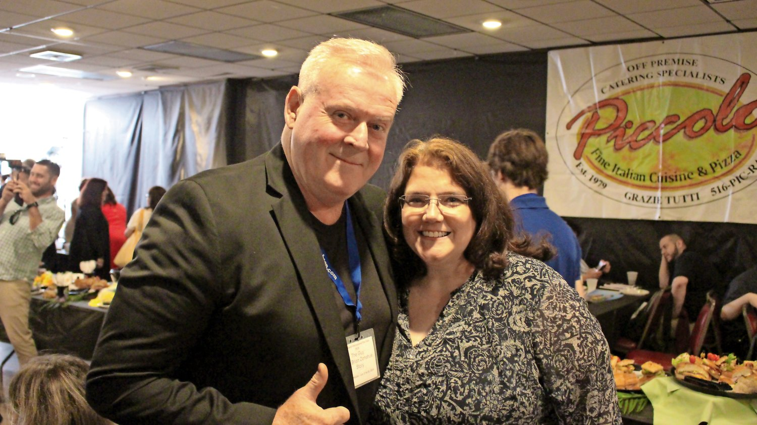"Also featured at the festival were Brian and Lori Donohue, who screened their documentary ""The Guy: The Brian Donohue Story."""
