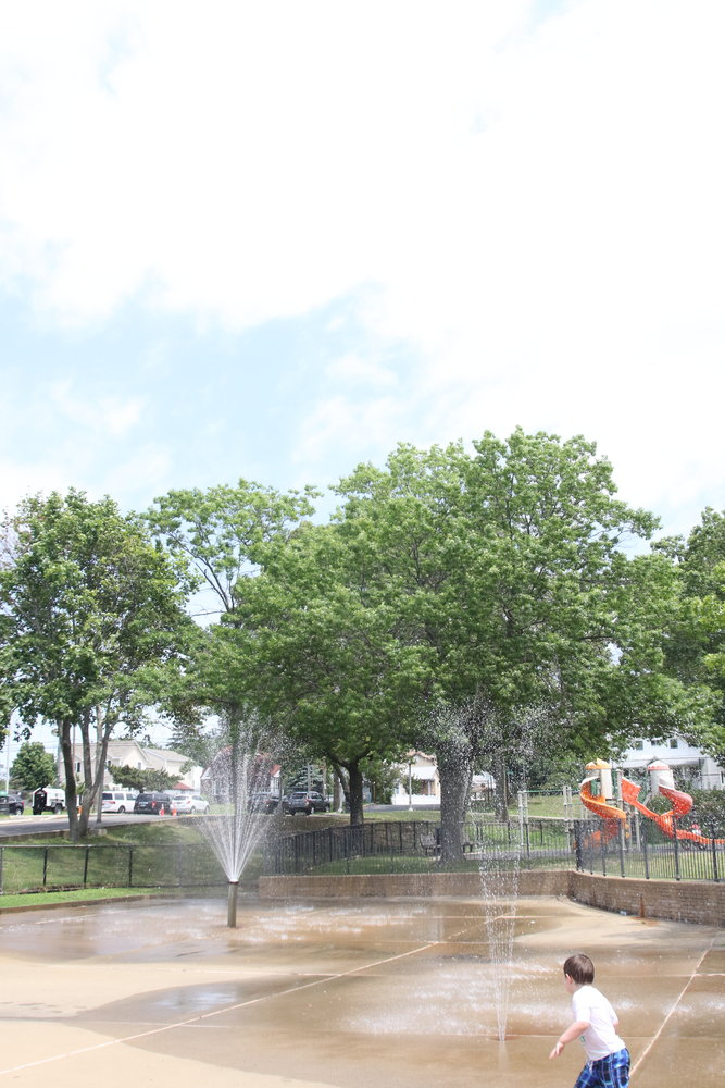 Whether it is a cooling center for older people or a spray park for children, Grant Park in Hewlett can help keep you cool in the heat.