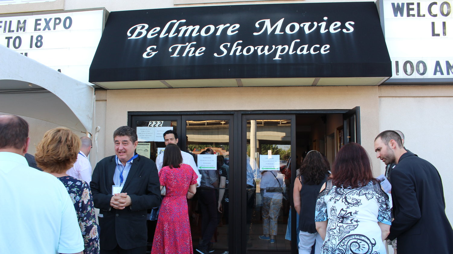 LIIFE brought filmmakers and moviegoers to the Bellmore Movies July 12-19.