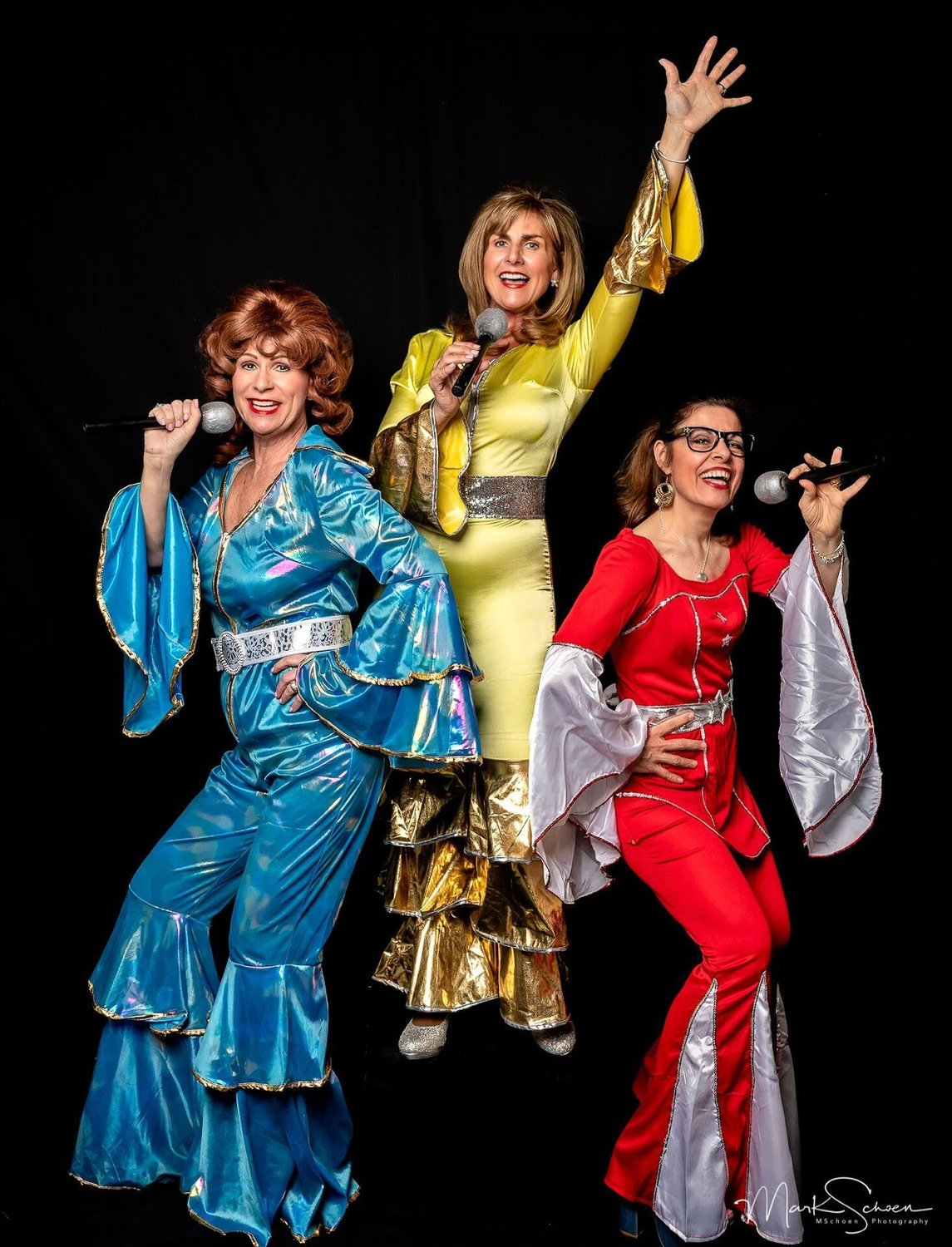 "ABBA's greatest hits unfold in the popular musical, ""Mamma Mia,"" being staged at local parks and indoors at Plaza Theatrical Productions' venue in Bellmore."