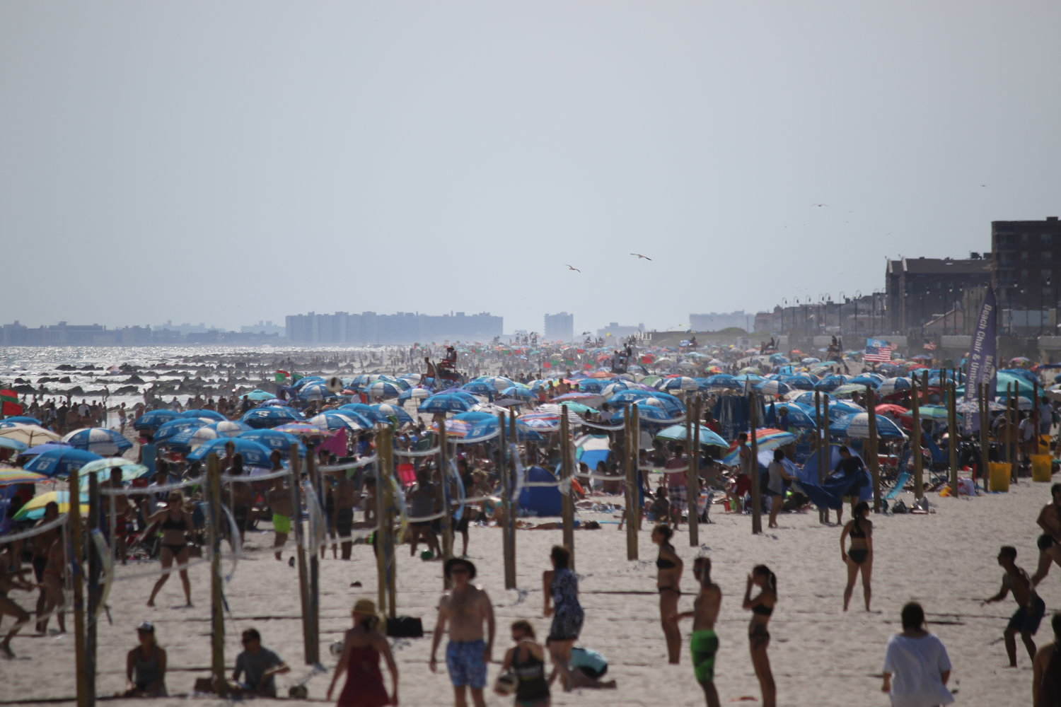 Long Beach Lifeguard Chief Paul Gillespie said he's expecting big crowds this weekend during a heatwave, and said that he's increasing his emergency response crews.