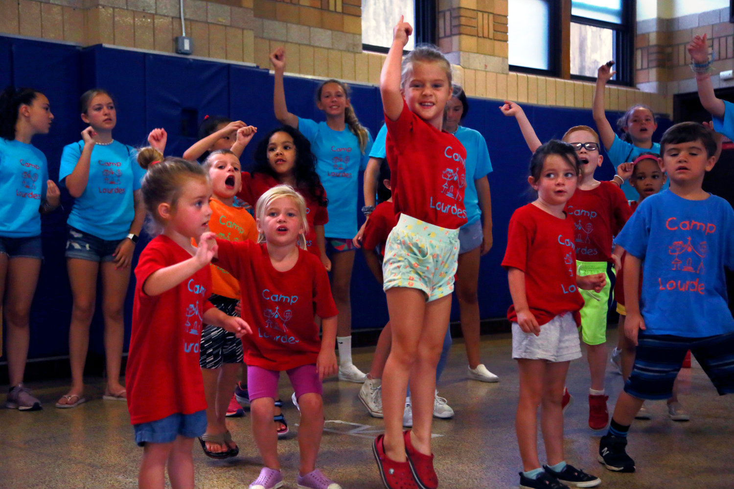 Camp Lourdes, in Malverne, celebrated its 21st anniversary last summer.