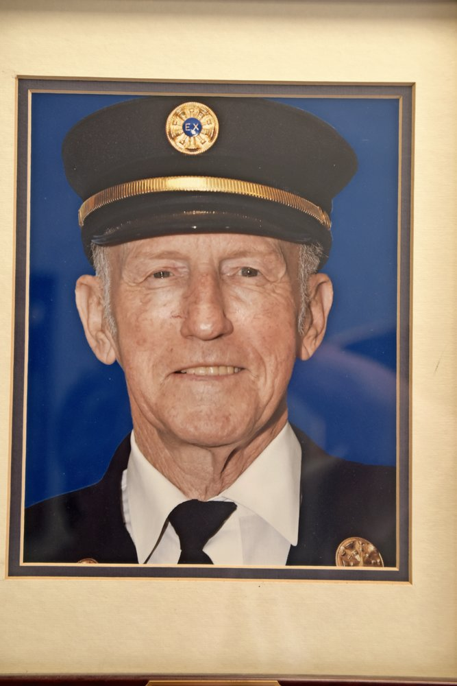 Frank H. Degen served the South Hempstead Fire Department as a volunteer for 69 years.