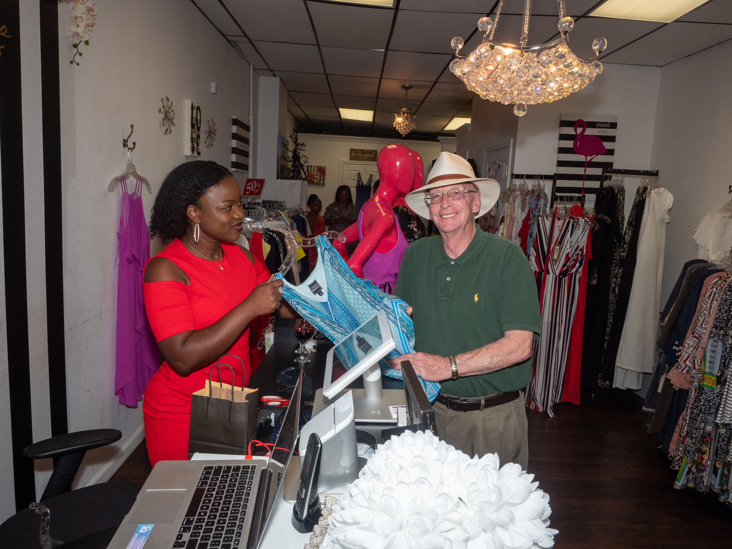 West Hempstead Chamber of Commerce President Marshall Myers contributed to Pierre's fundraiser.