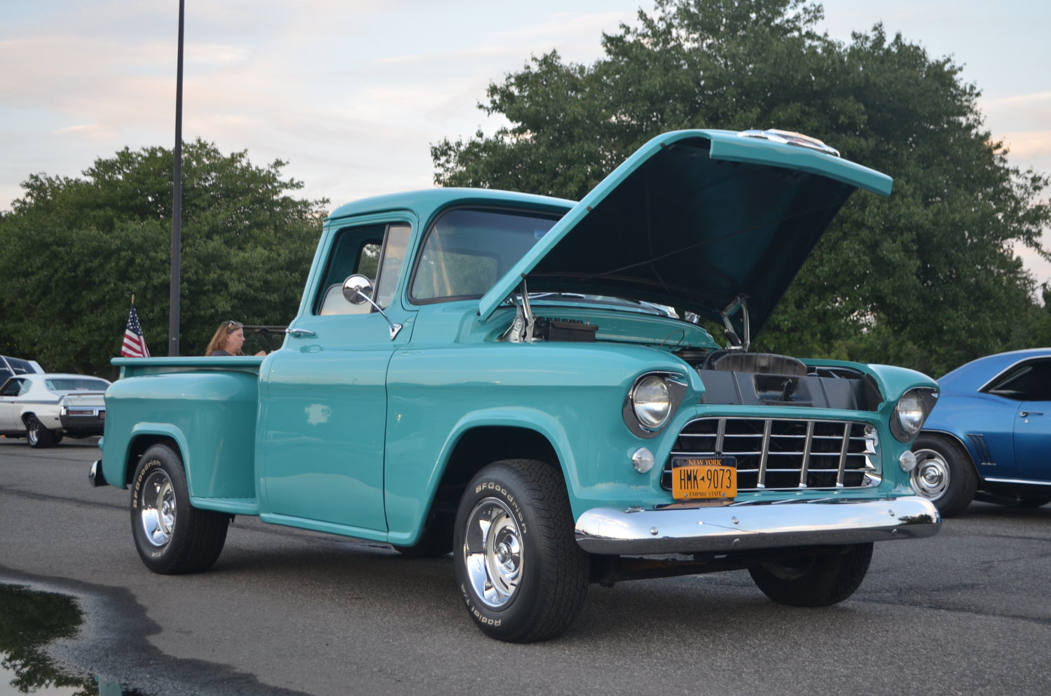 Dozens of people from around Nassau County showed off their cars at the new Baldwin/Rockville Centre Rotary Club car show on July 24.