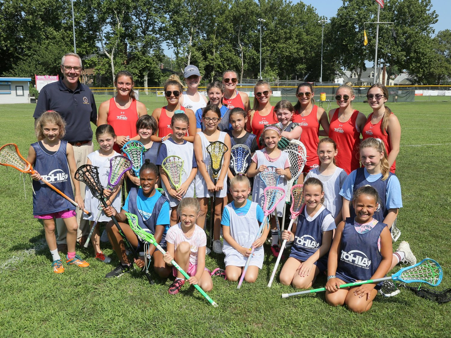 The Lacrosse Academy offers clinics and training for both boys' and girls' teams.