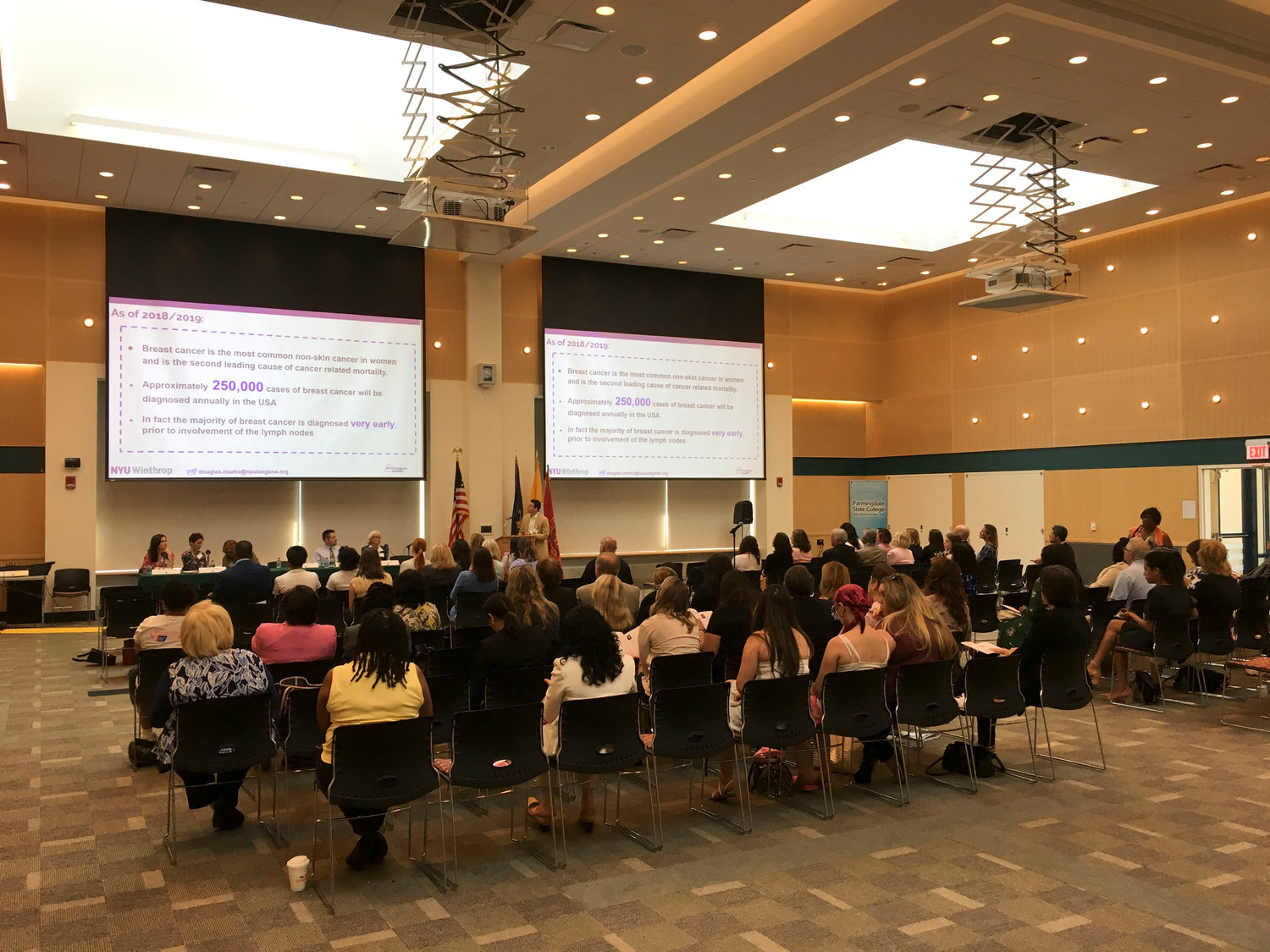 The 2019 Long Island Breast Cancer Forum was held in Farmingdale on July 24.