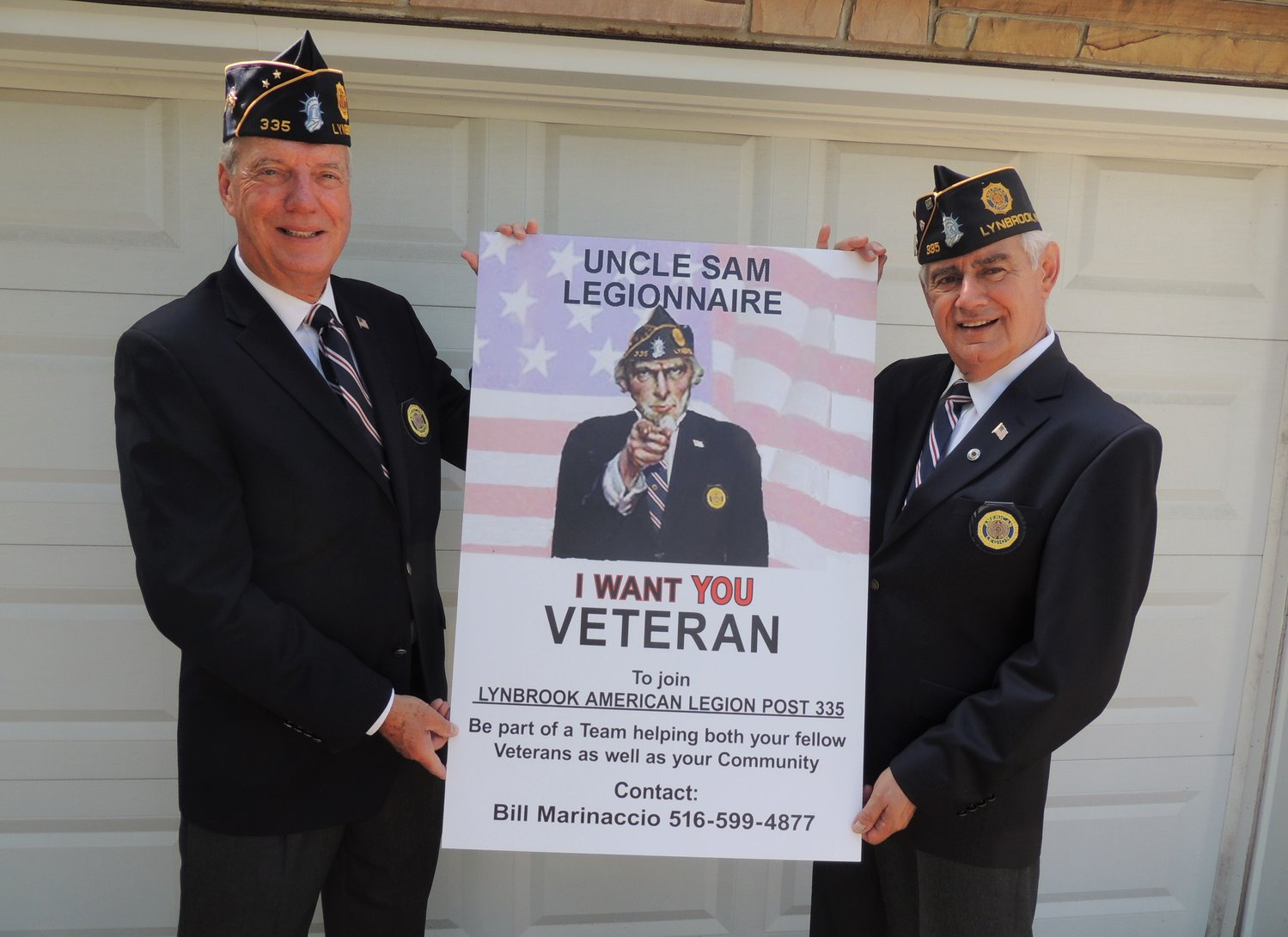 Lynbrook American Legion Post 335, which is celebrating its 100th anniversary this year, has begun a recruitment drive to bring more veterans into the post.