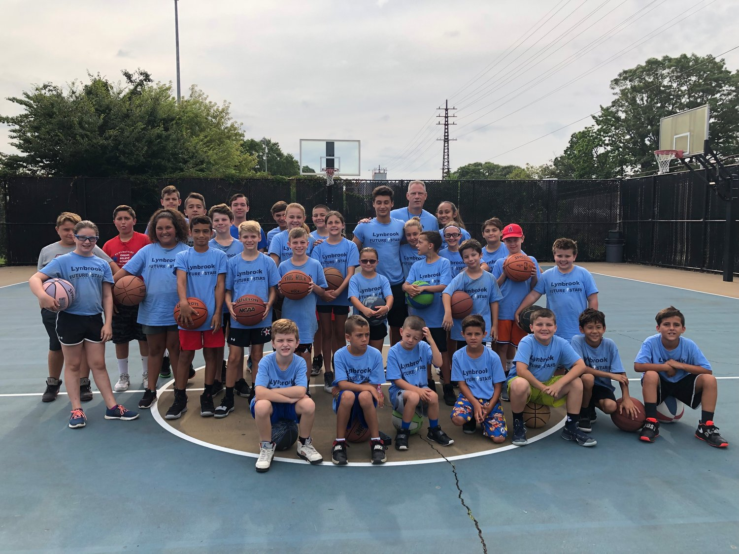 The Lynbrook Future Stars annual summer camp was held in Greis Park from July 29 through Aug. 2.