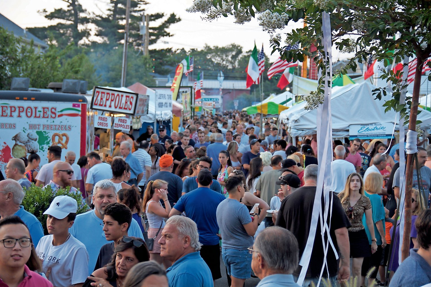 Thousands of people from across Long Island and beyond traveled to Glen Cove between July 31 and Aug. 4 for the annual Feast of St. Rocco.