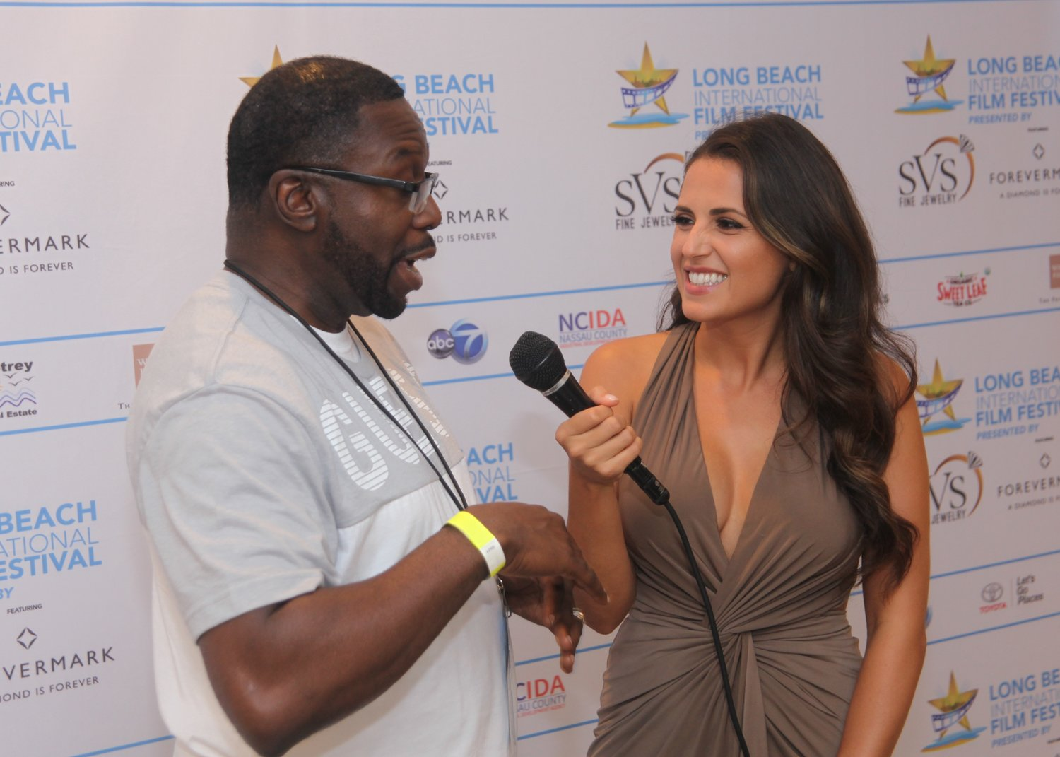 "Filmmaker Marc Brissett spoke about his film, ""Suicide Flies,"" on the red carpet with host Marisa Hunter."