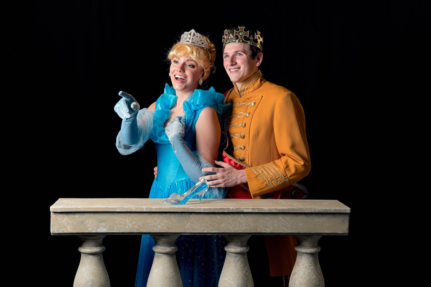 See Cinderella charm the Prince at the Royal Ball when Plaza Theatrical Productions stages the classic fairy tale at local parks and indoors.