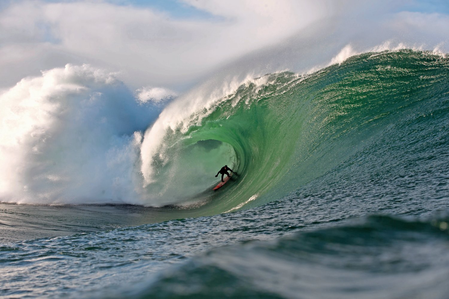 Will Skudin, Ireland, 2017. The professional big-wave surfer is currently competing as an alternate in the 2019-20 WSL Big Wave World Tour.