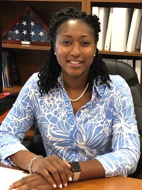 Dr. Ayesha McArthur, 46, is the new principal of Rhame Avenue Elementary School.