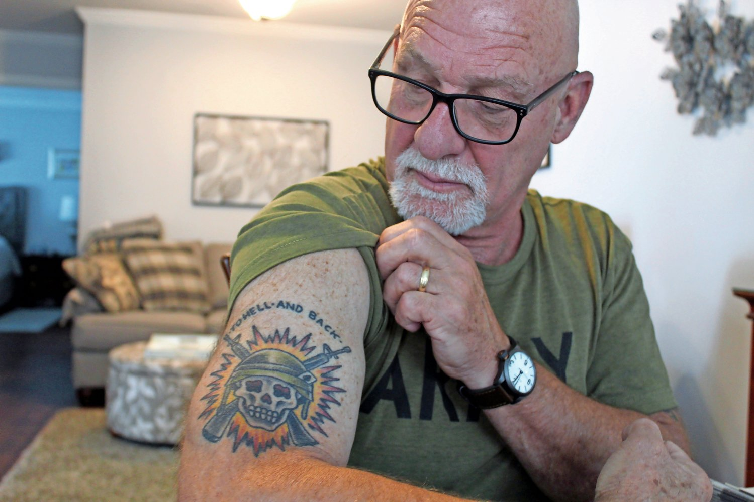 Army veteran Harold Jantz, originally from Bellmore, was recently awarded the Bronze Star Medal with valor for his heroic actions during the Vietnam War.