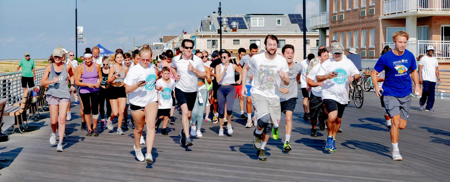 The annual Larry Elovich 5K Memorial Fun Run supports a scholarship fund that bears his name honoring college-bound seniors from Long Beach High School.