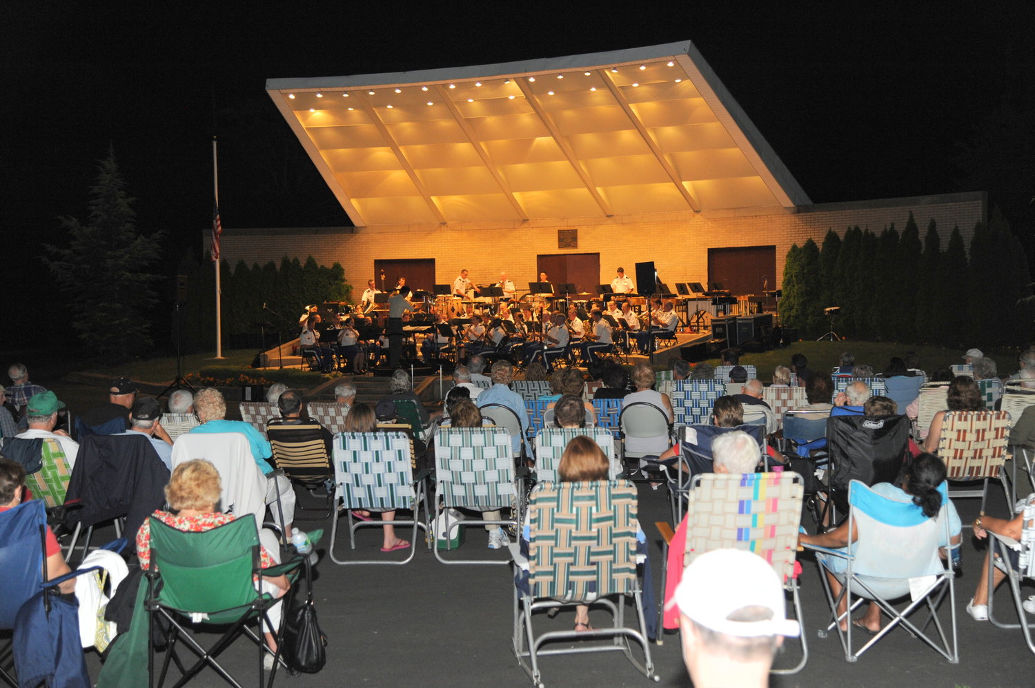 The West Point Band performance is open to the public on August 21 at 8 p.m.