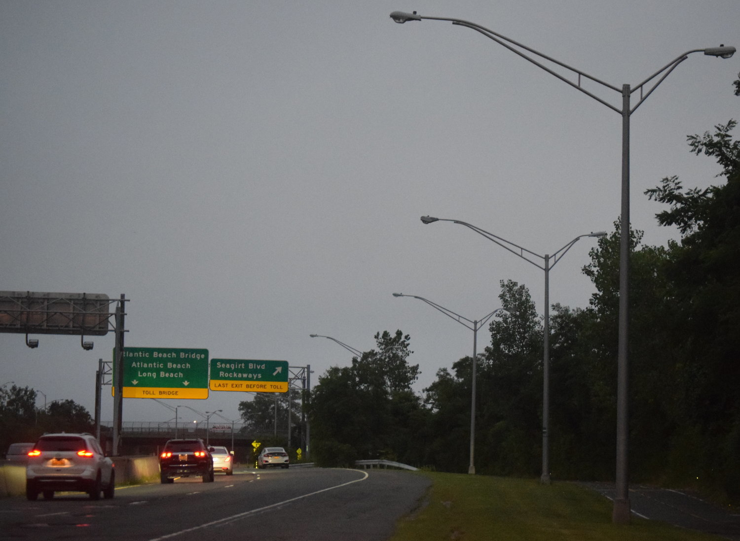 Village of Lawrence Deputy Administrator Gerry Castro said that any future work to fix the streetlights on State Route 878 could be funded by a state grant.