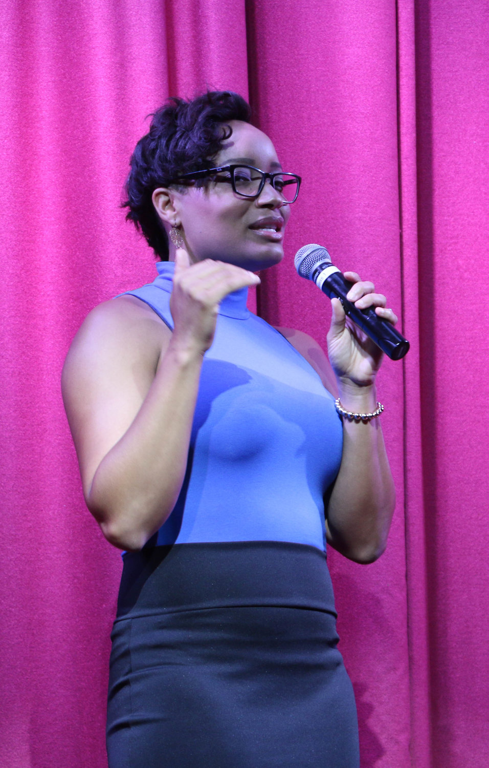 Tiffany Horton gave a speech about her journey and touched on the night's theme of women's empowerment.