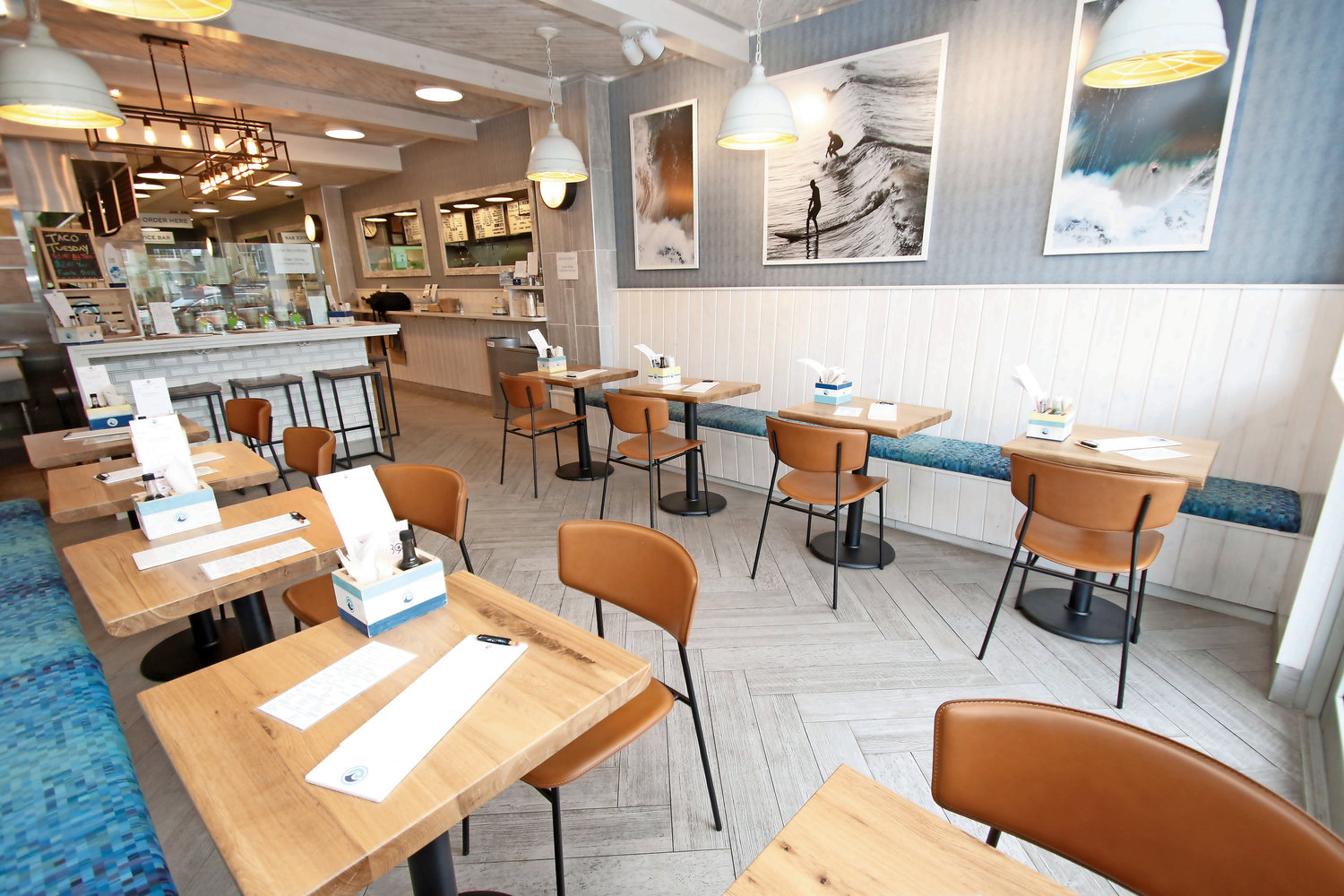 Pure Shore Kitchen opened at 655 E. Park Ave. last year.