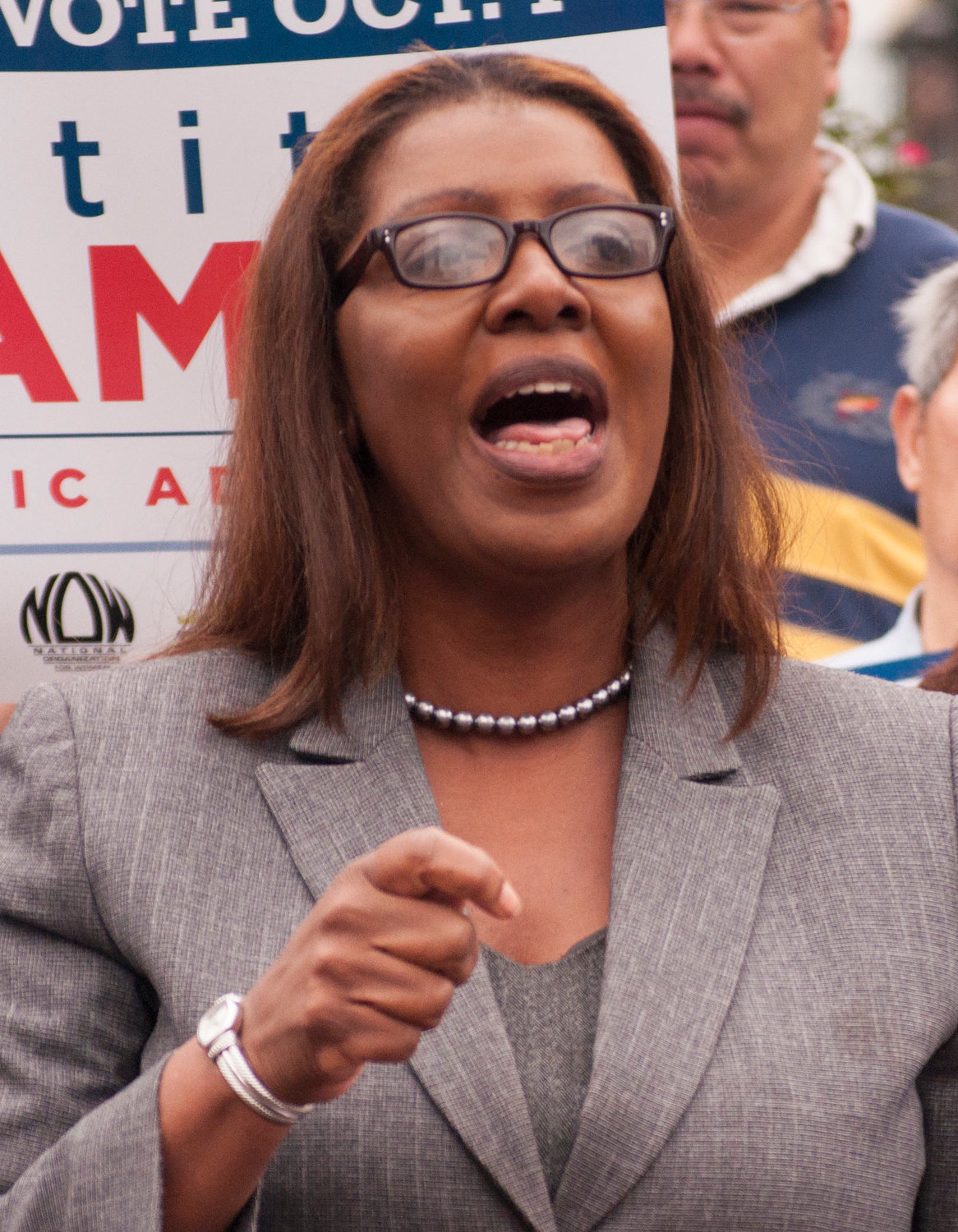 New York State Attorney General Letitia James announced the convictions of three men involved in a $3 million loan scheme that included a pair of Five Towns residents.