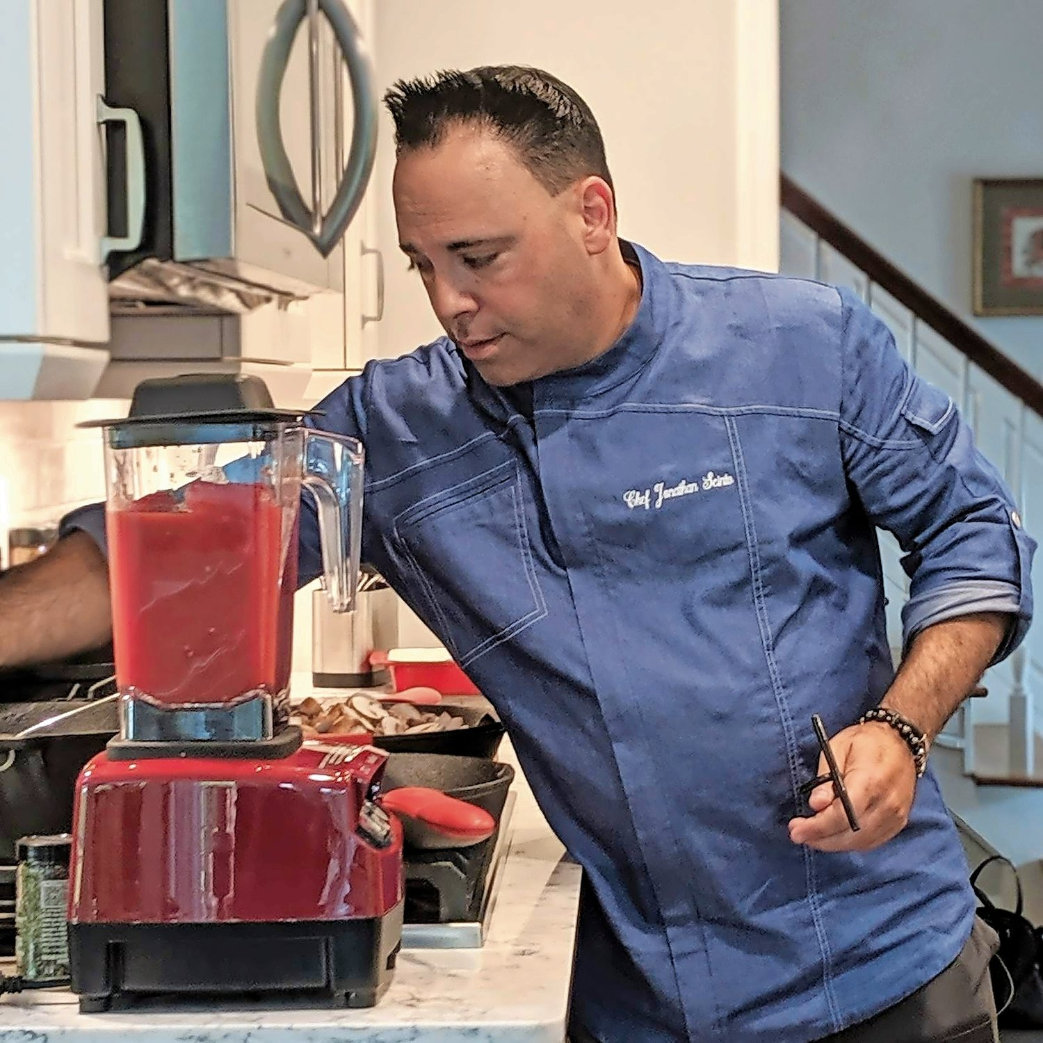 "In his show, ""Family Kitchen Revival,"" Chef Jonathan Scinto will ""revive"" the kitchens of several local families."