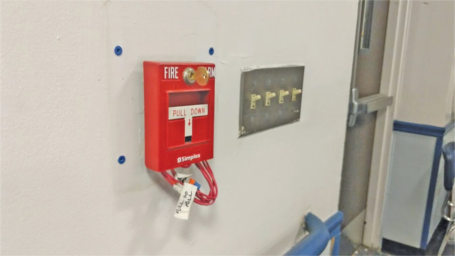 Both the elementary school and Lincoln Orens Middle School received brand new fire alarms and carbon monoxide detectors.