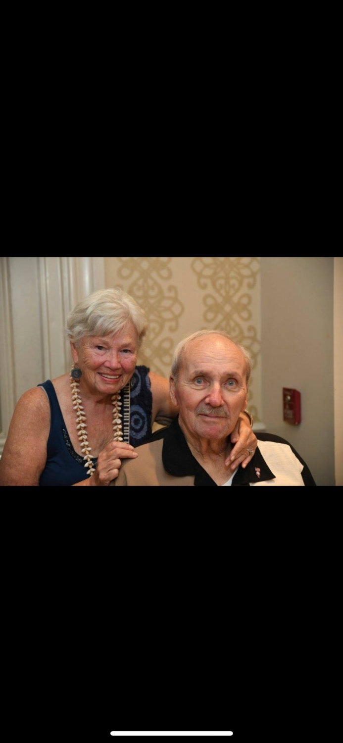 Larsen and his wife, Madeline, were set to celebrate their 56th anniversary on Sept. 28.