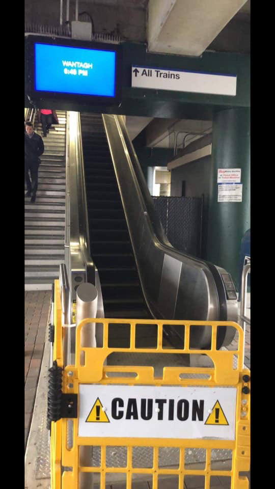 The Wantagh Seaford Homeowners Association repeatedly called the Long Island Rail Road office this spring to repair the malfunctioning escalator at the Wantagh train station.