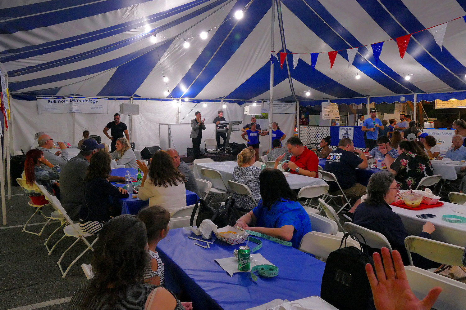 Dozens of residents attended the four-day event. Musical entertainment was provided by VIVO Entertainment and DJ Lou Barone.