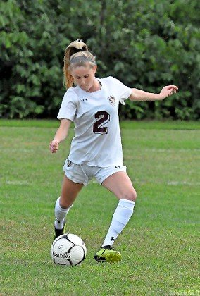 Senior Ryleigh Gilligan will be a vital part of the Lady Vikings' attack as a starter in the midfield or at forward.