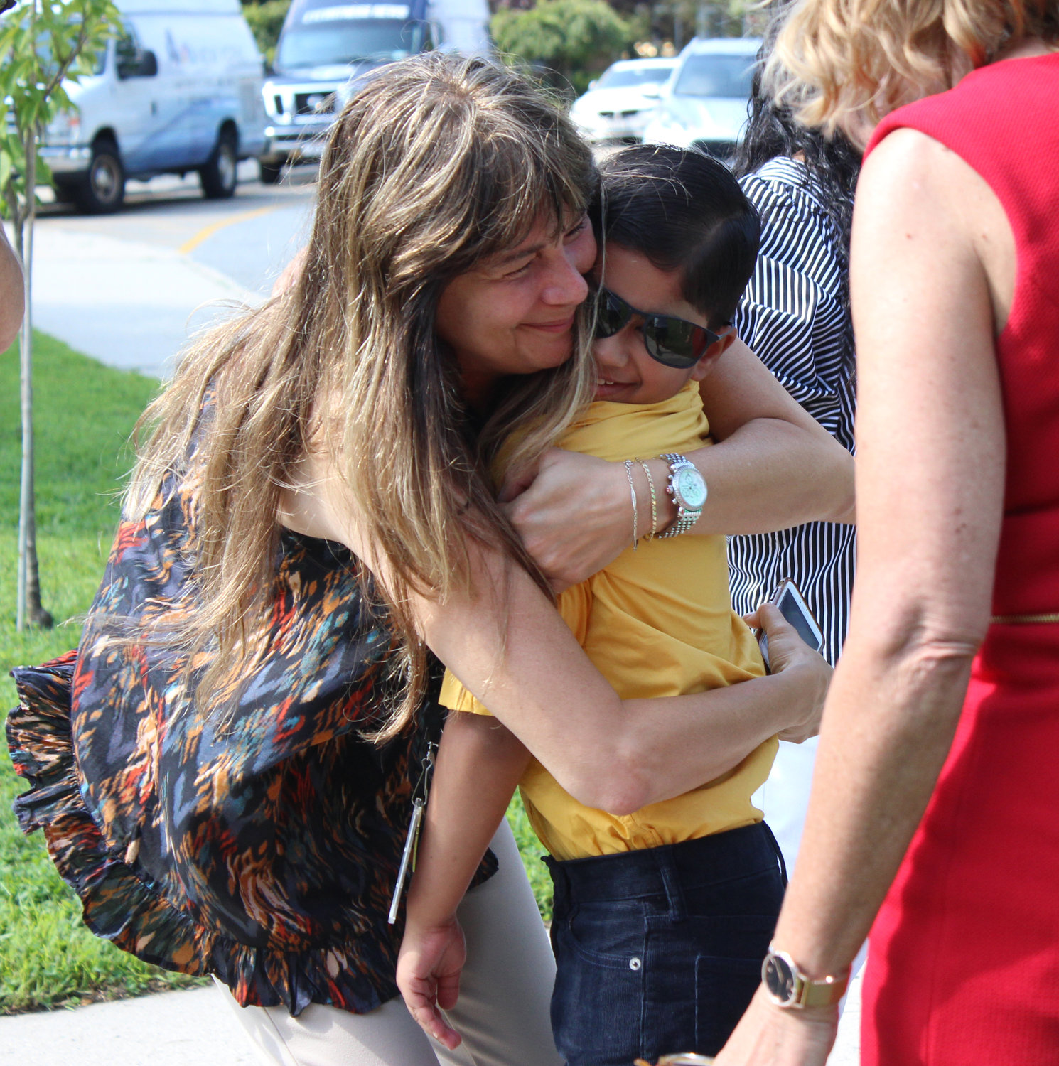 Mahdi Islam returned to Bowling Green Elementary School after a heart transplant in April left him hospitalized and out of school through the summer. One staff member after another greeted him on the first day of classes on Sept. 4.