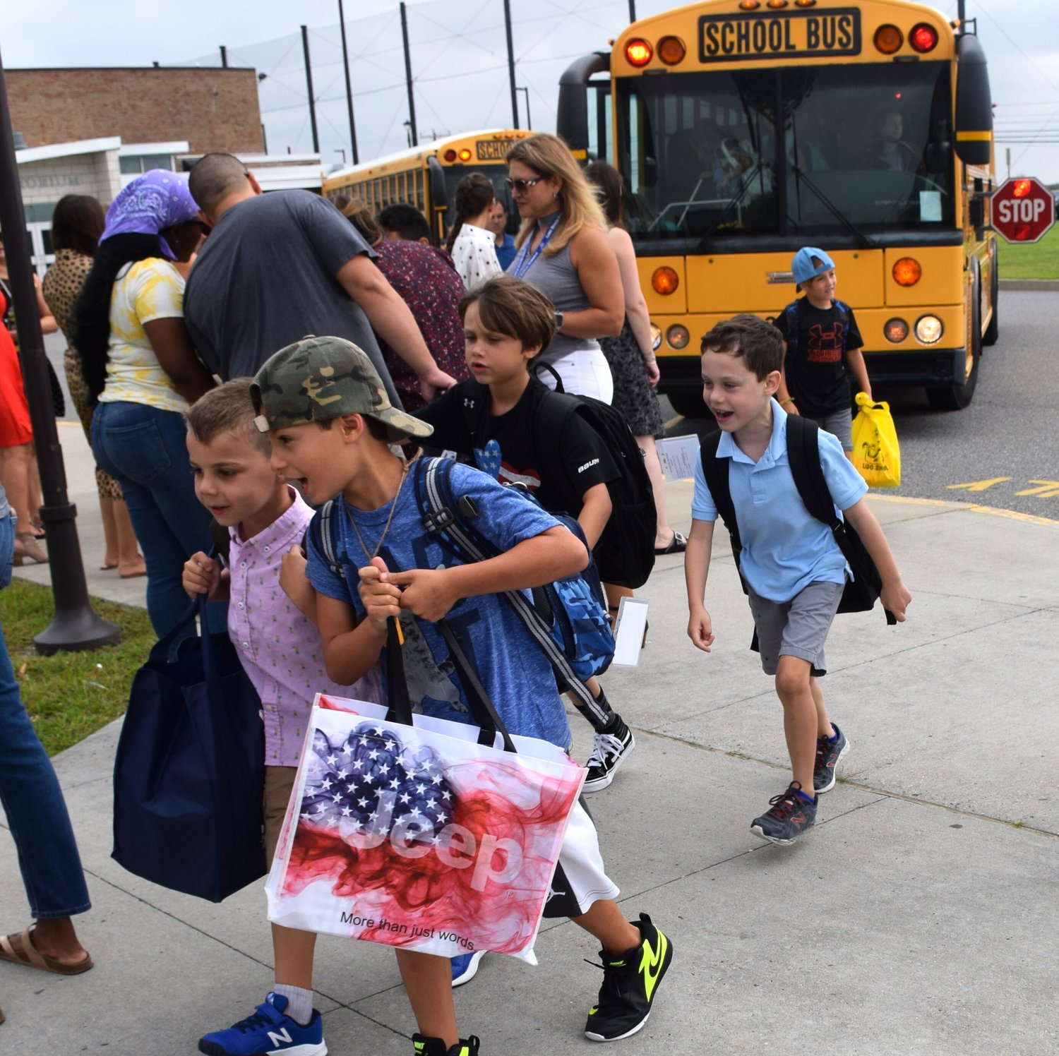 Lido Elementary School students were excited to return to school for the 2019-20 school year.