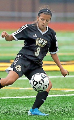 Senior midfielder Ivanna Salazar is usually all over the field for West Hempstead, which finished at .500 last season under coach Carlos Mery.