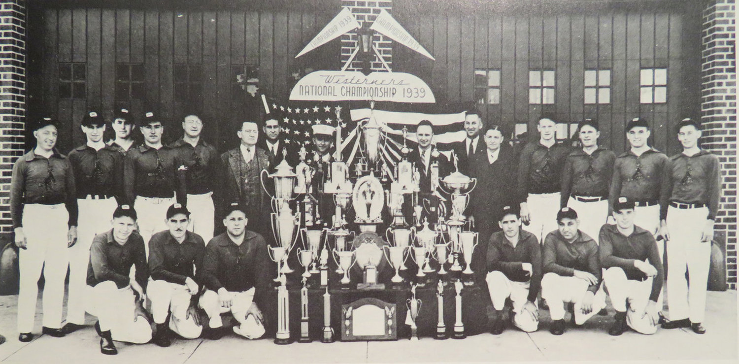 The West Hempstead Fire Department's Westerners — who competed in numerous skills competitions — won the national championship at the 1939 World's Fair in New York City.