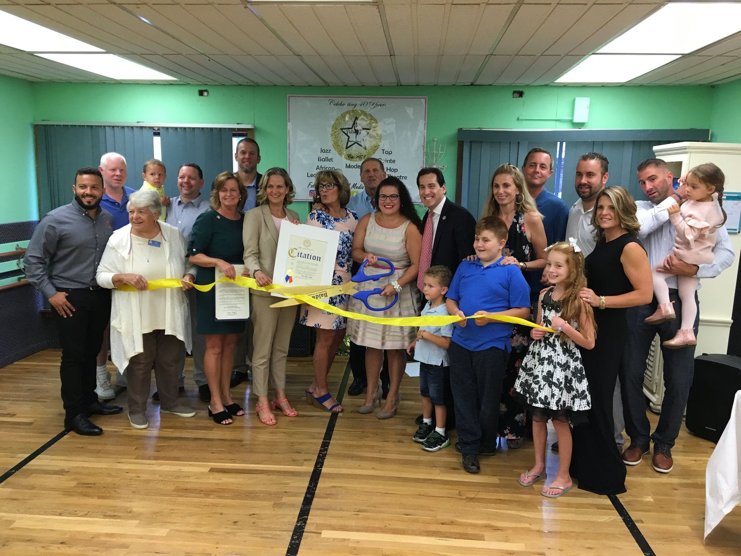 Pat Randazzo, the founder of Pat's Dance Studio, and her niece, Melanie Vaughan, the current owner, hosted a ribbon cutting party on Sept. 6 to celebrate 40 years in business.