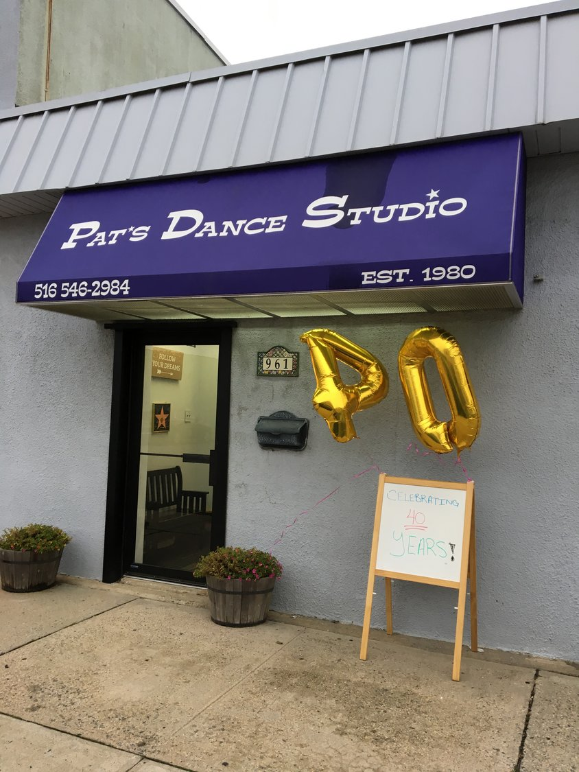Pat's Dance Studio has been in business since 1980.