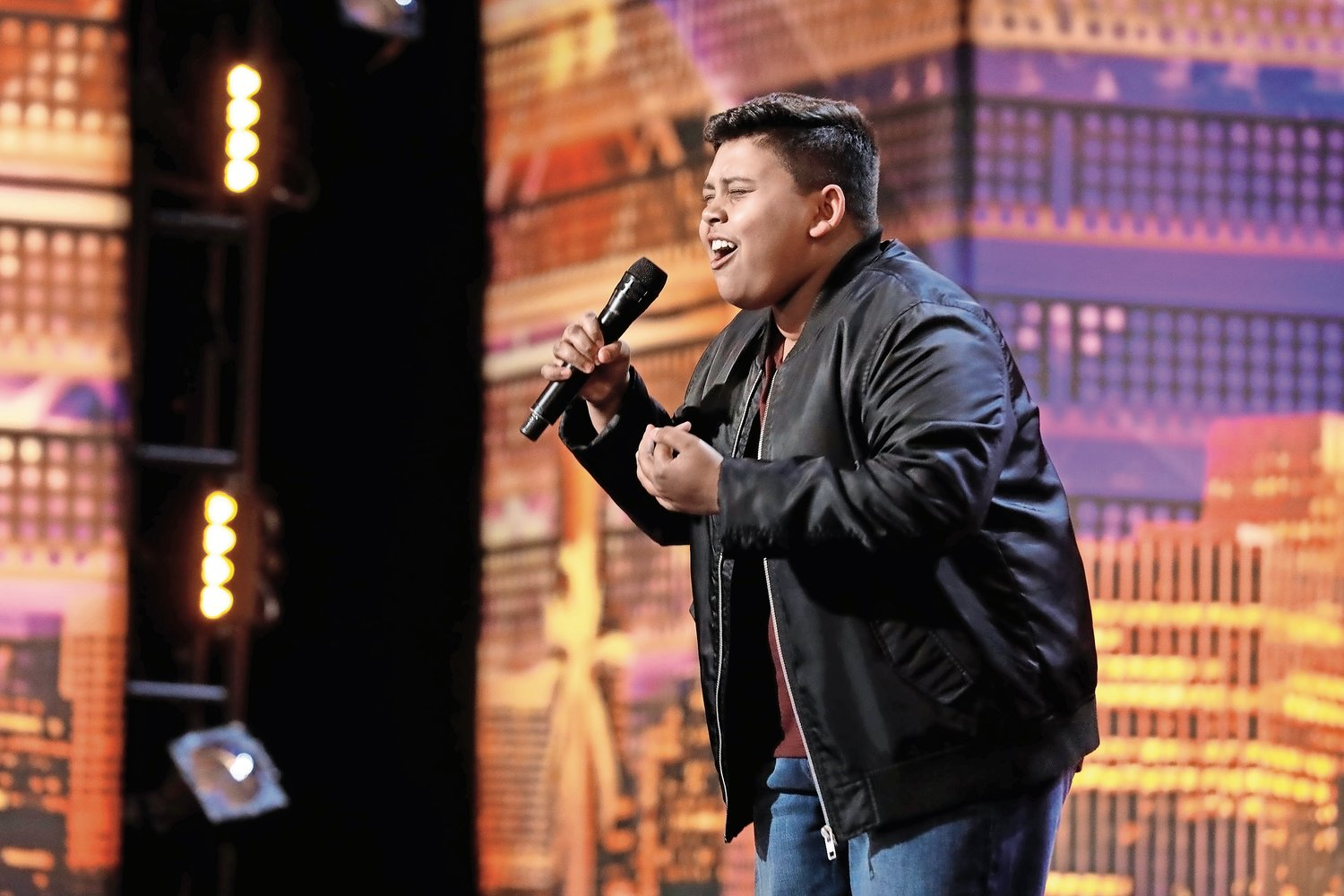 "Luke Islam, a student at H. Frank Carey High School, sang ""She Used to Be Mine"" from the musical ""Waitress"" for his ""America's Got Talent"" audition."