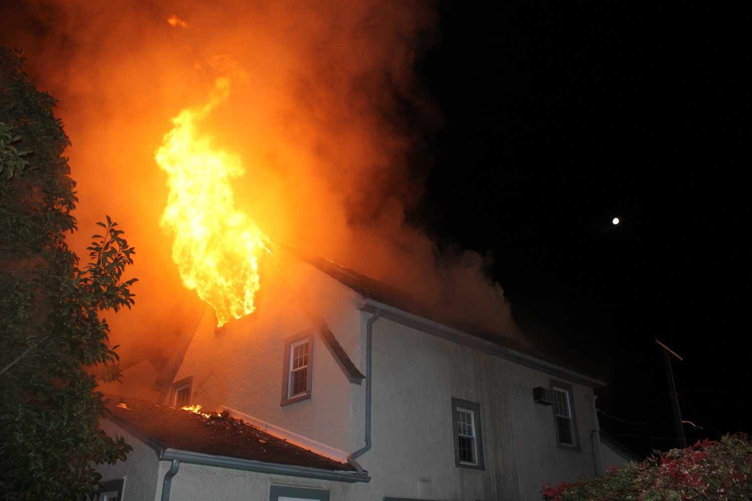Lynbrook firefighters responded to a severe fire that broke out in the attic of a home on Durland Road on Sept. 10.