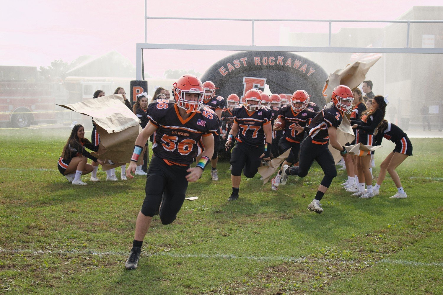 East Rockaway hosts its Homecoming game on Sept. 21 against Carle Place/Wheatley at 3 p.m., which will be preceded by a parade on Friday.
