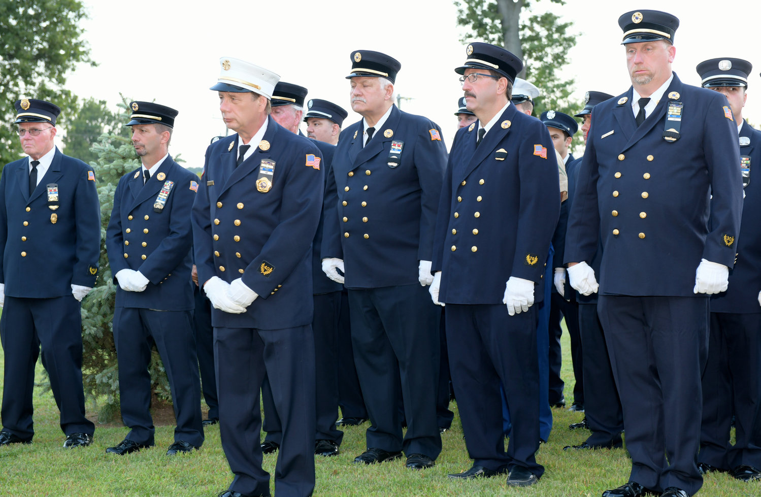 Dozens of Glen Cove's first responders went to the World Trade Center in the wake of the attacks.