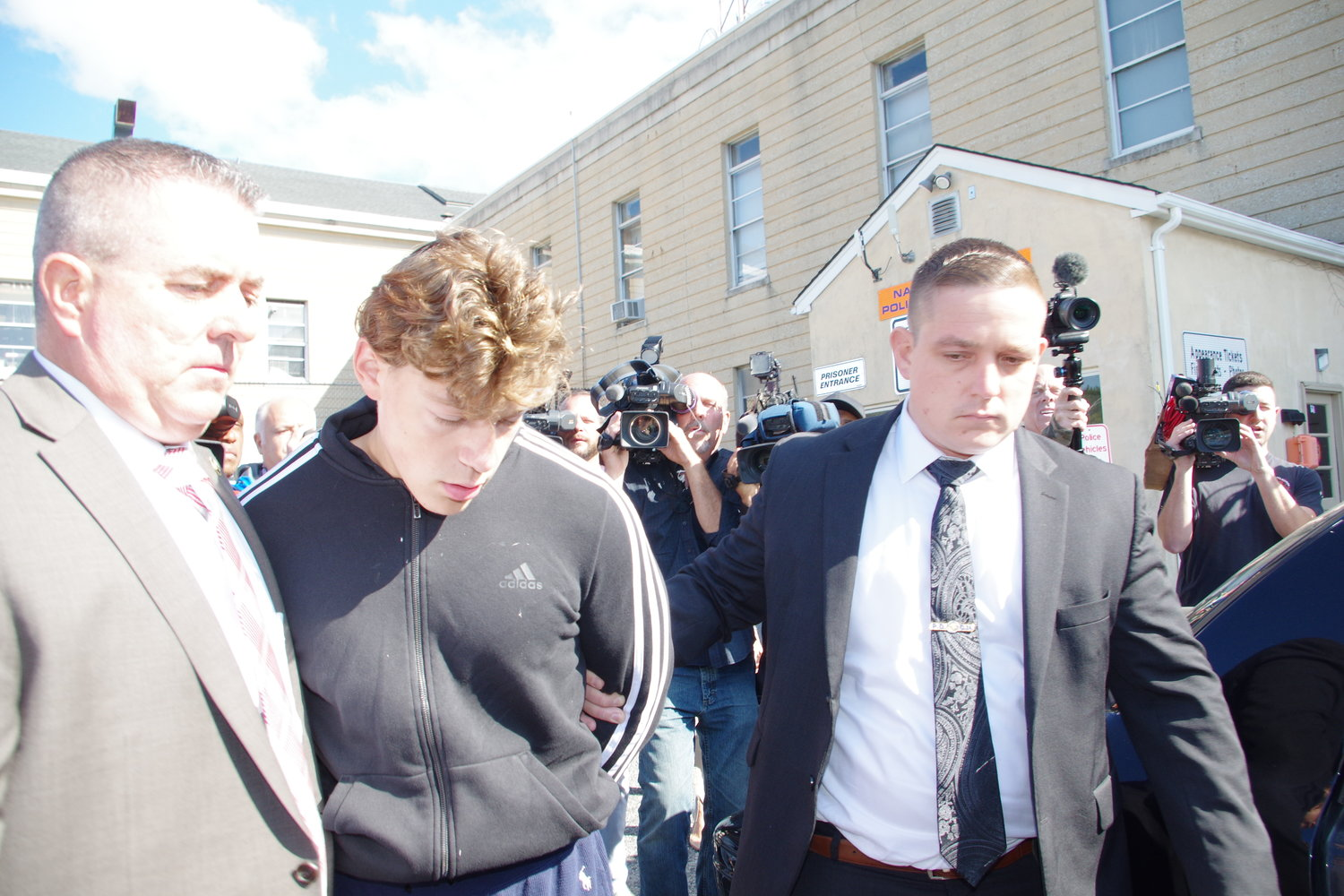 Tyler Flach was held without bail on Thursday after he pleaded not guilty in the stabbing death of 16-year-old Khaseen Morris.