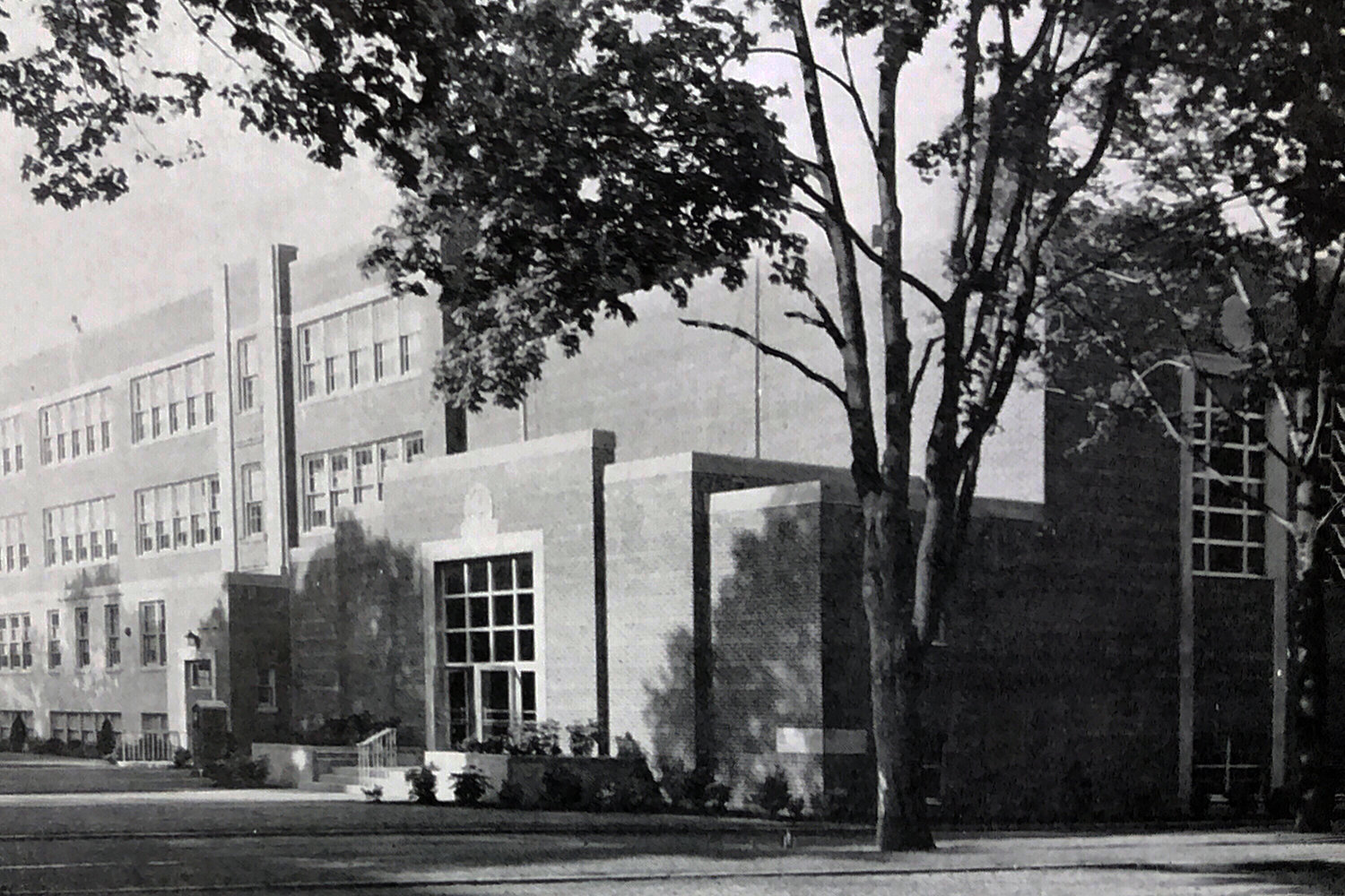 Sacred Heart's campus in the 1950s.